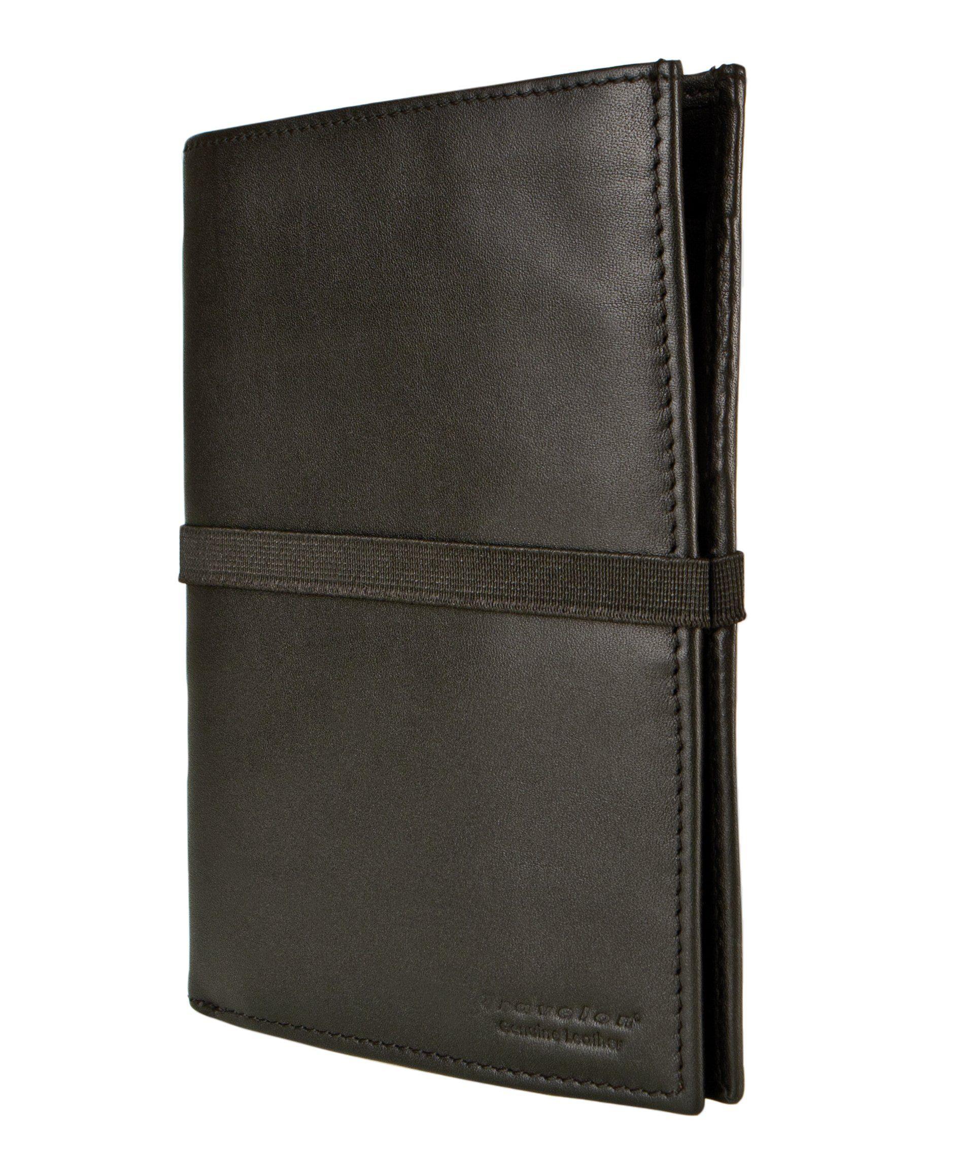 beb4bbce7cef Travelon Luggage Rfid Blocking Leather Wallet Organizer Black One ...