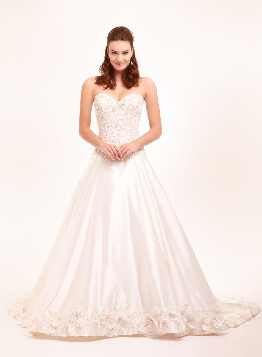 Bridal Gowns Perla D by Pnina Tornai Princess/Ball Gown Wedding ...
