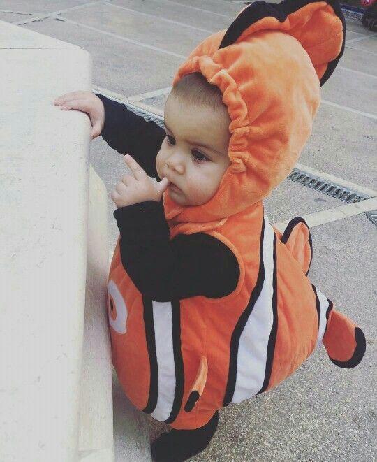 Awww A Nemo Costume Baby Boy Halloween Funny Baby Costumes Baby Halloween Costumes