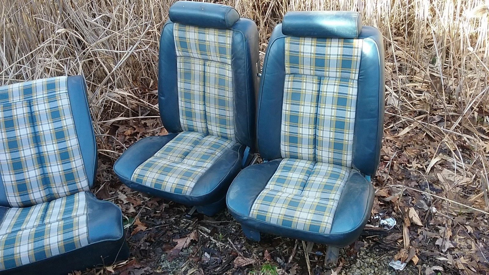 This Is A Very Hard To Find Front And Back Seats Out Of A 1972