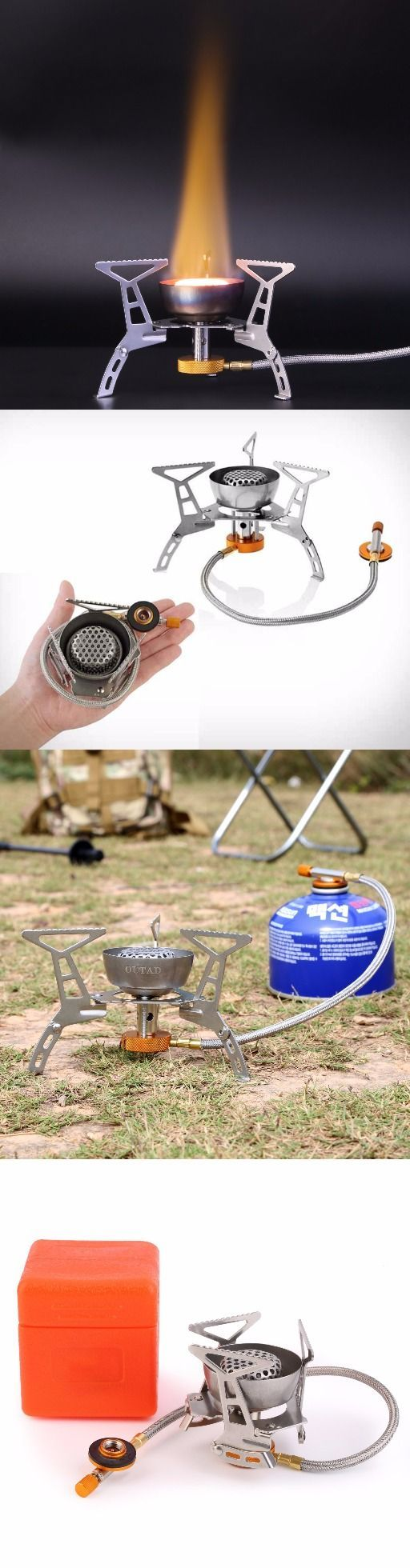 OUTAD Windproof Foldable Camping Stove for Outdoor Backpacking//Hiking