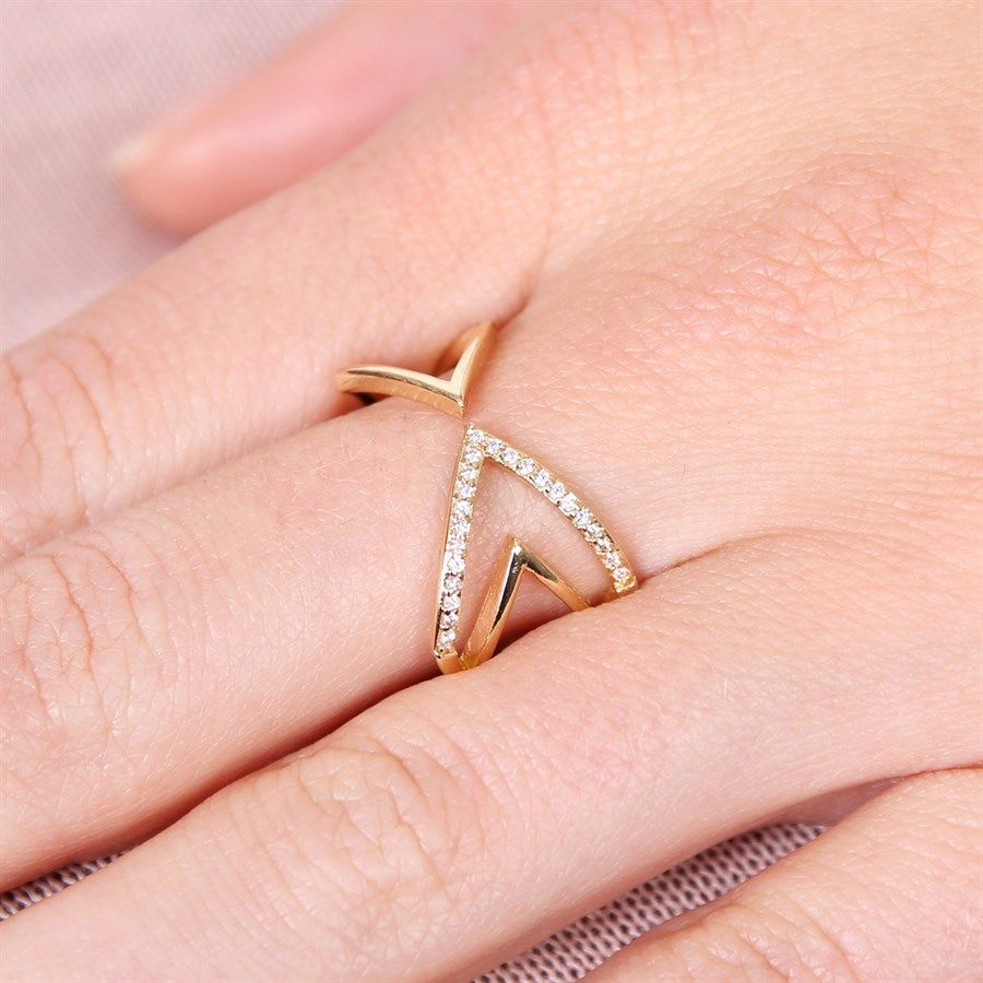 Gold & White Plated Fashion Rings | 9 Styles | Fashion ring, Pearls ...