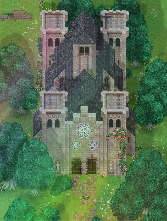 RPG Maker MV Lost Village Map by XxJapoZeroxX on