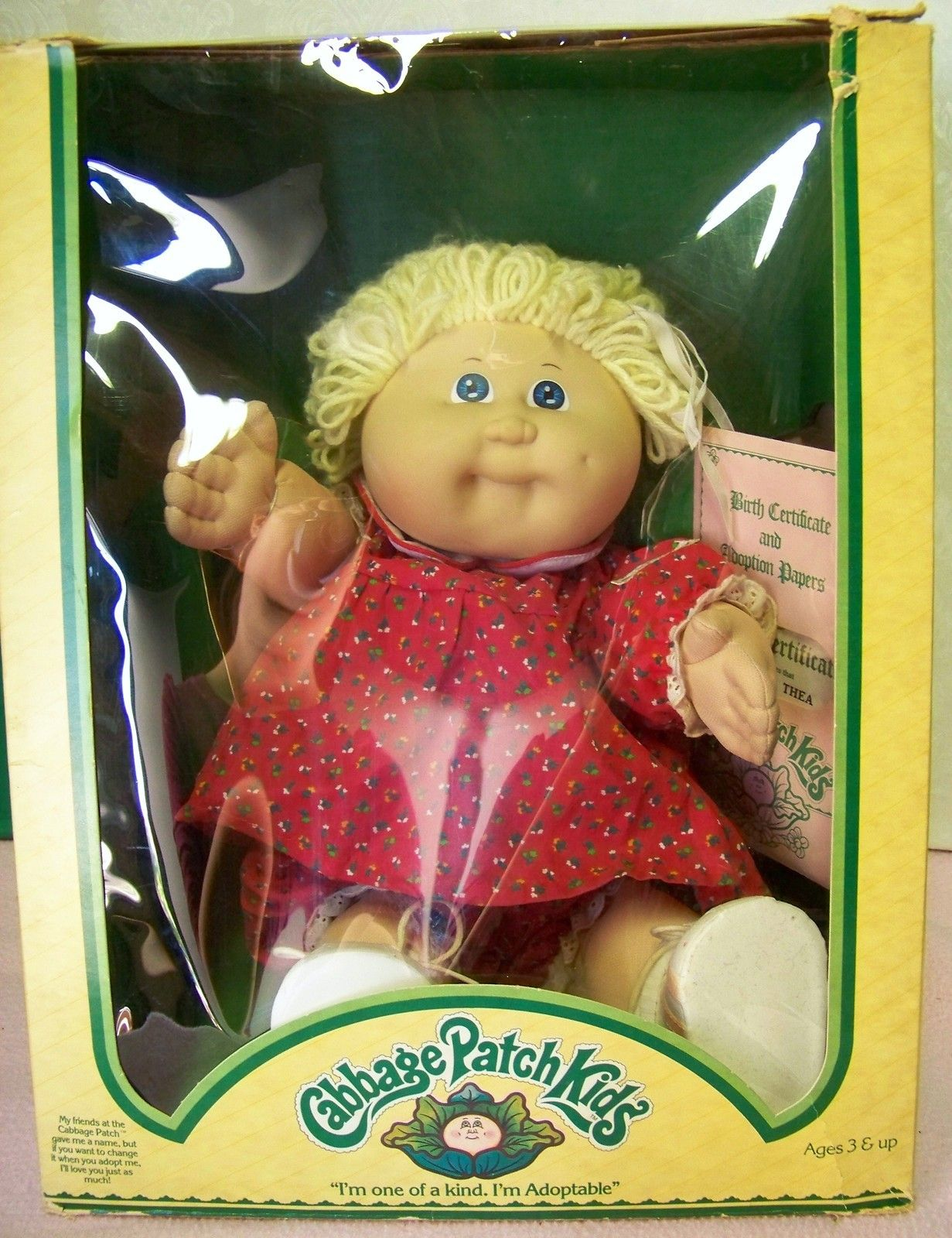 Cabbage Patch kids sears 1983 - I had one that was very similar to ...