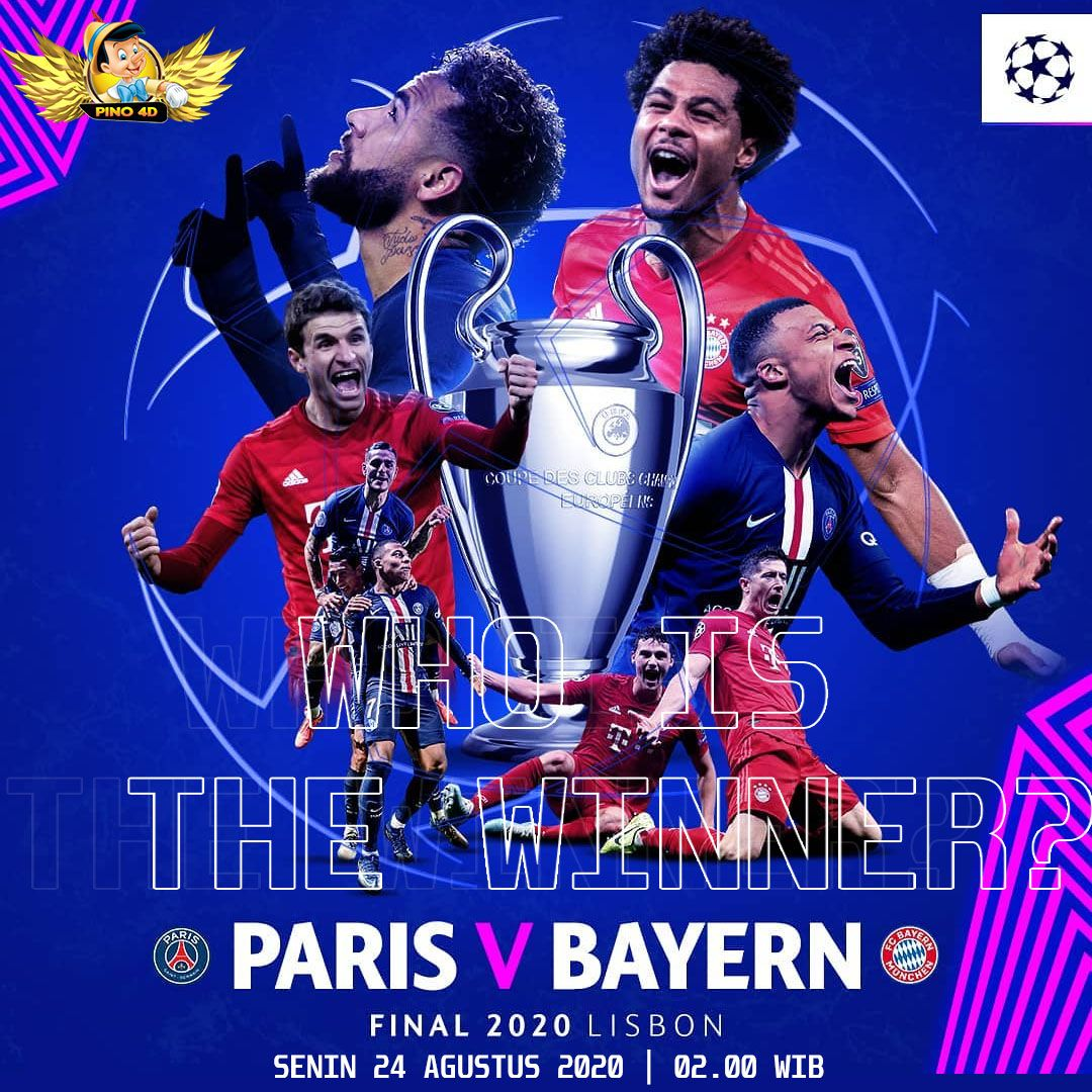 Prediksi PSG vs Bayern Munchen di Final Liga Champions  in 2020   Bayern,  Champions league, Champions league final