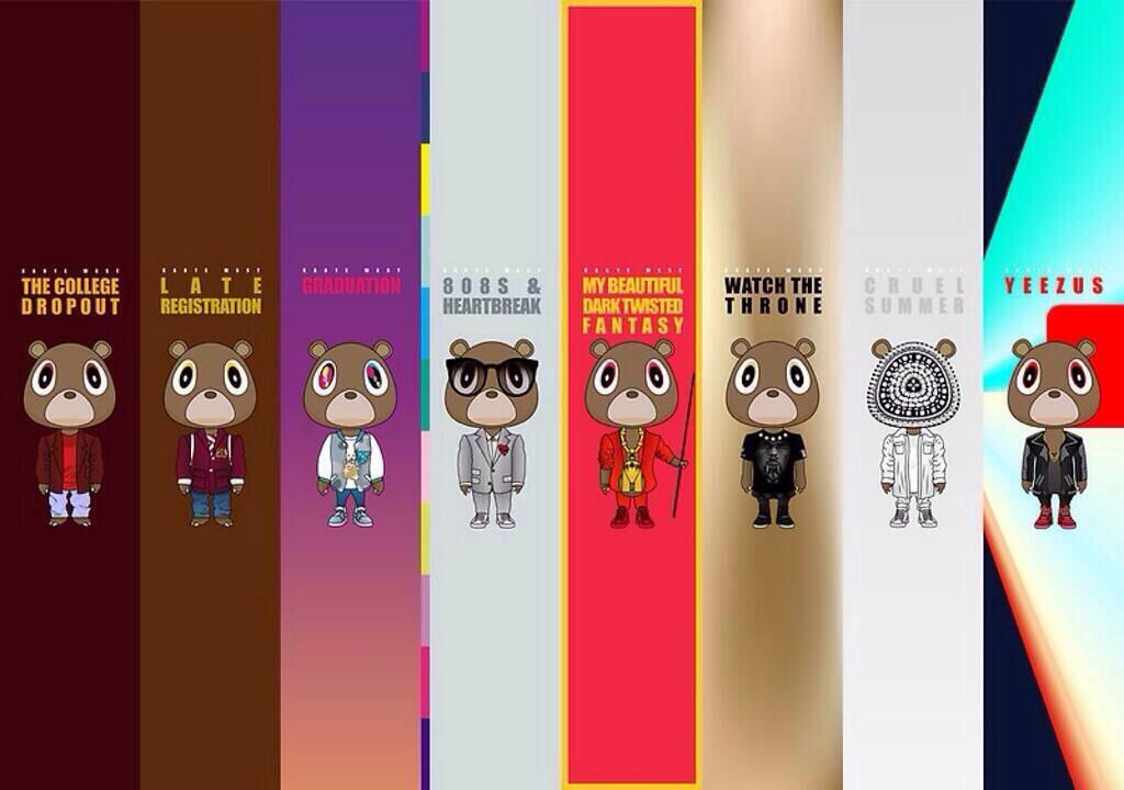 The Many Styles Phased Of Kanye West Coinciding With His Albums