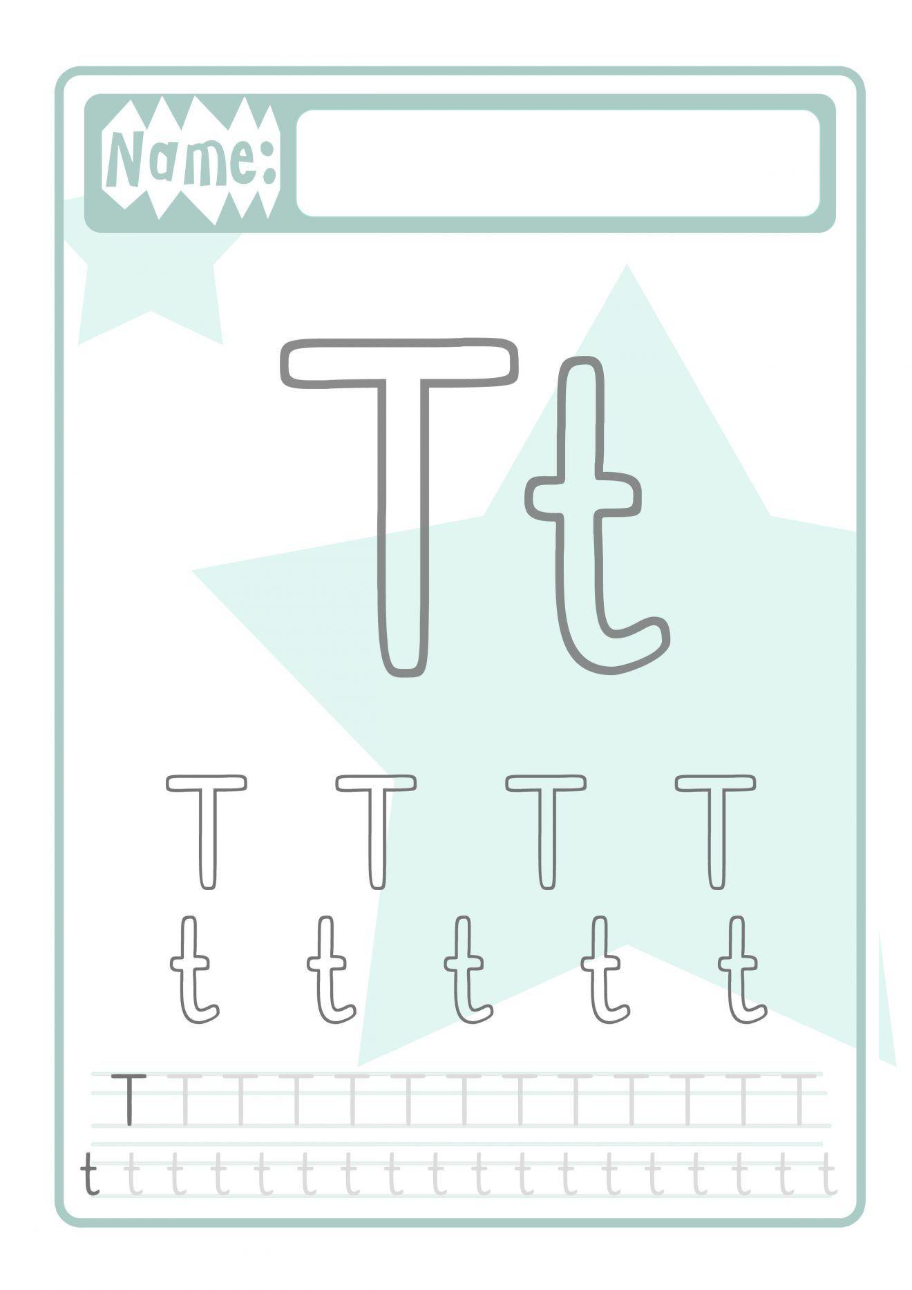 Buchstaben Druckvorlage für Kinder | Schreiben lernen, Druckvorlagen ...