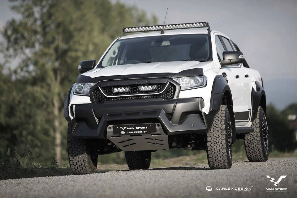Ford Ranger M Sport Looks Like A Baby Raptor