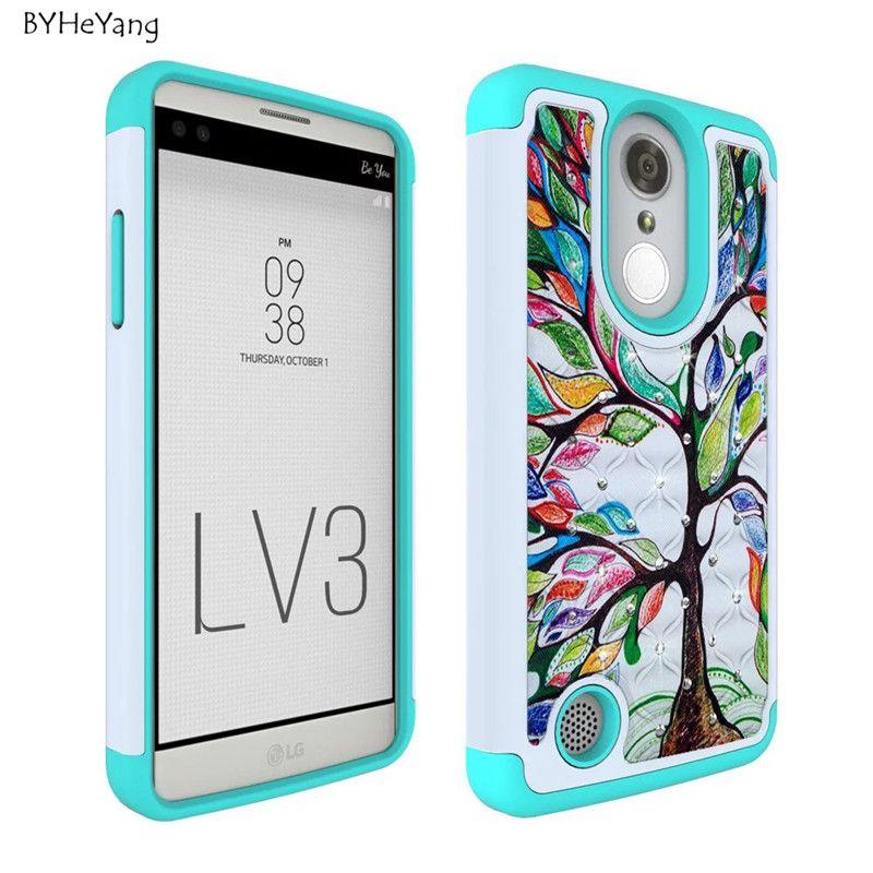LG LV3 LG Aristo LG K8 2017 Case AOKER Bling Luxury