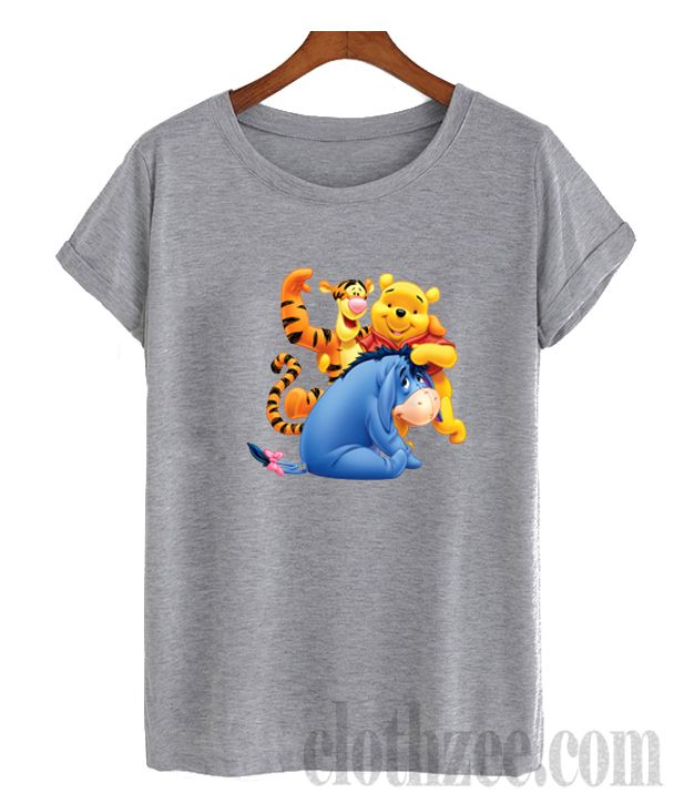 6e17257695 Winnie the Pooh Eeyore and Tiger T Shirt #trendingclothes #tees #clothes  #comfortclothes #shirt #hoodie #sweatshirt #tanktop #unisextees #clothes ...
