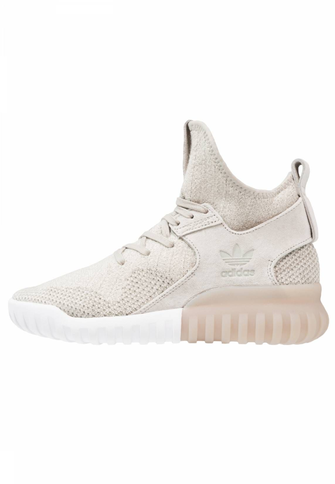 best service 9e354 7d3df adidas Originals. TUBULAR X - Sneakers hoog - sesameclear browntrace cargo