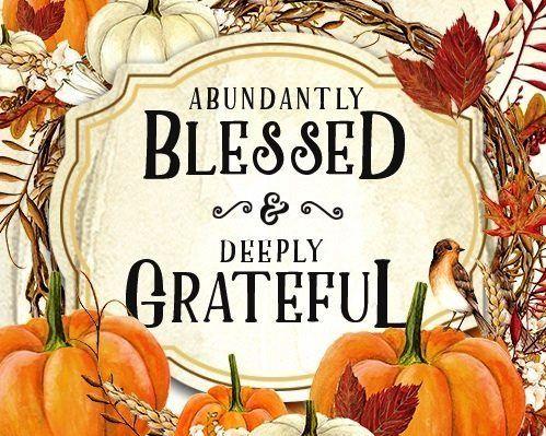 Happy Thanksgiving - Being Grateful #happythanksgiving