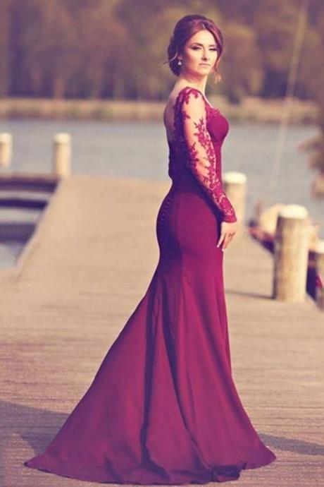 Mermaid Engagement Dresses