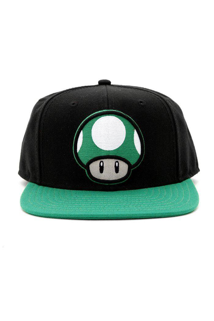 580e95cadb9 Nintendo Super Mario Bros. 1-Up Mushroom Ball Cap