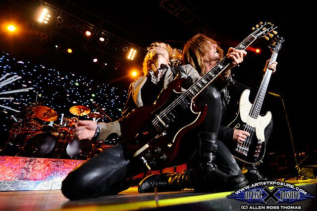 Tommy Shaw / Ricky Phillips by Allen Ross Thomas