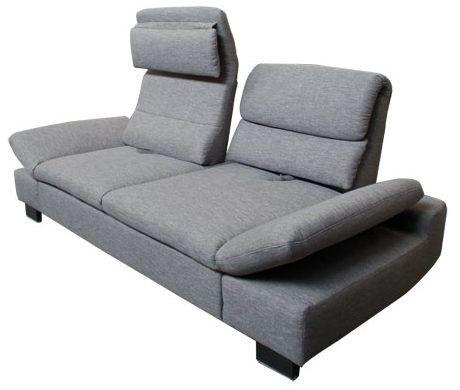 Graues Sofa mit hohen Lehnen. | Sofas für kleine Räume https ...