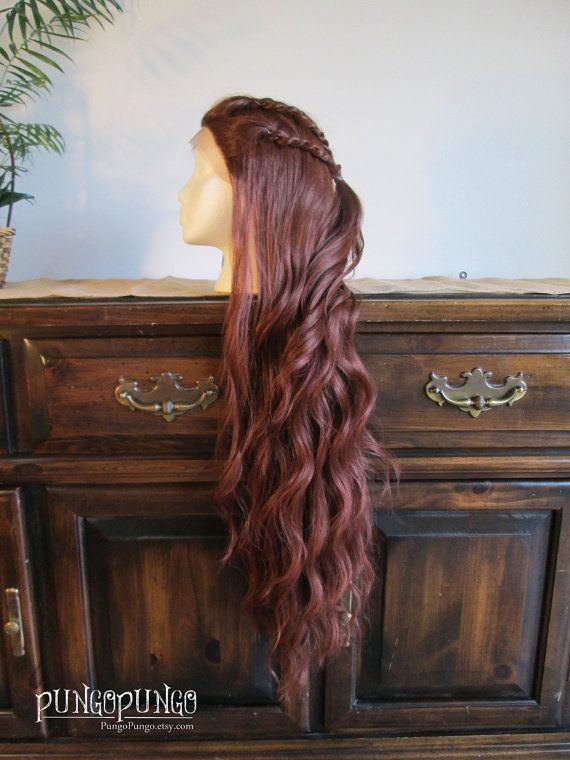 Miss U Hair Women Fluffy Long Reddish Copper Brown Black Color Curly Hair Halloween Cosplay Costume Wig Adult Synthetic Wigs Hair Extensions & Wigs