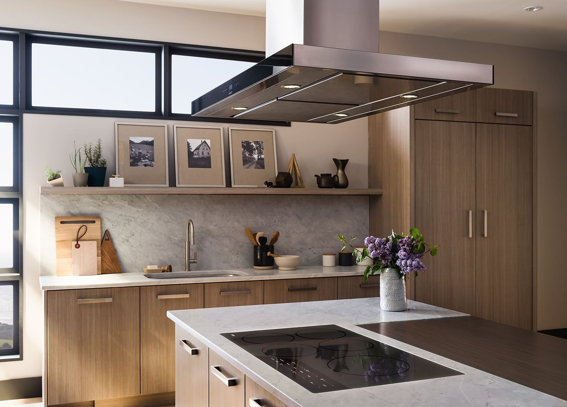 Wolf Low Profile Modern Island Hood Review Cteih42i Kitchen