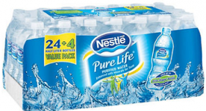 1 Off 2 Nestle Pure Life Purified Water Coupon Hunt4freebies Nestle Pure Life Water Nestle Pure Life Pure Life Water