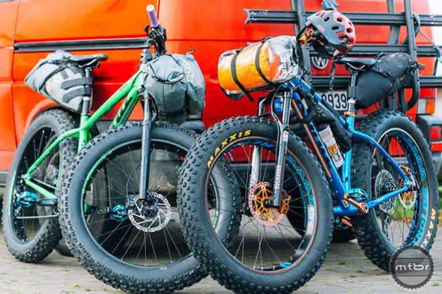 Fat Bike Adventure In Ireland Aboard Kona Wozo Mountain Bikes For