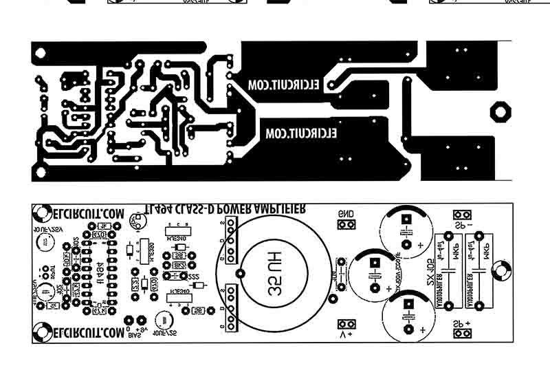 DIY 500W Class-D TL494 Switching Amplifier | ClasssD tl494