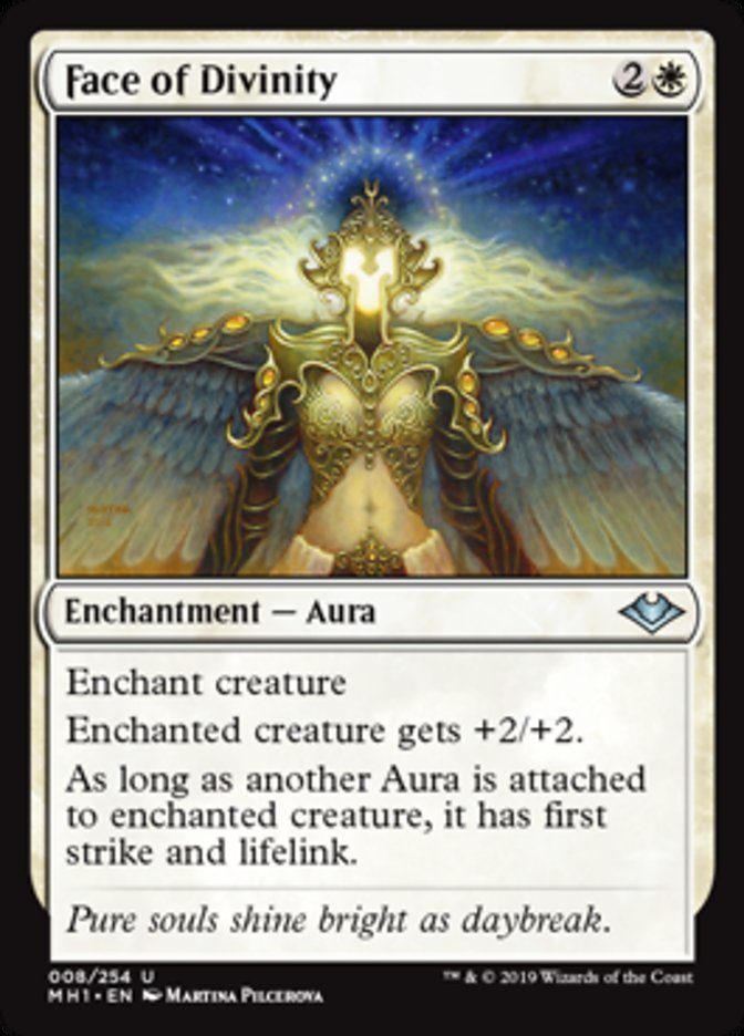 Face Of Divinity Magic The Gathering Cards Magic The Gathering Face