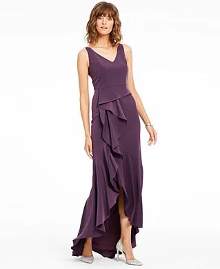 Gray Formal Dresses For Women Macy S In 2020 Formal Dresses For Women Review Dresses Womens Dresses
