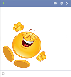 Cheerful Smiley Jumping For Joy Smiley Funny Emoticons Animated Smiley Faces