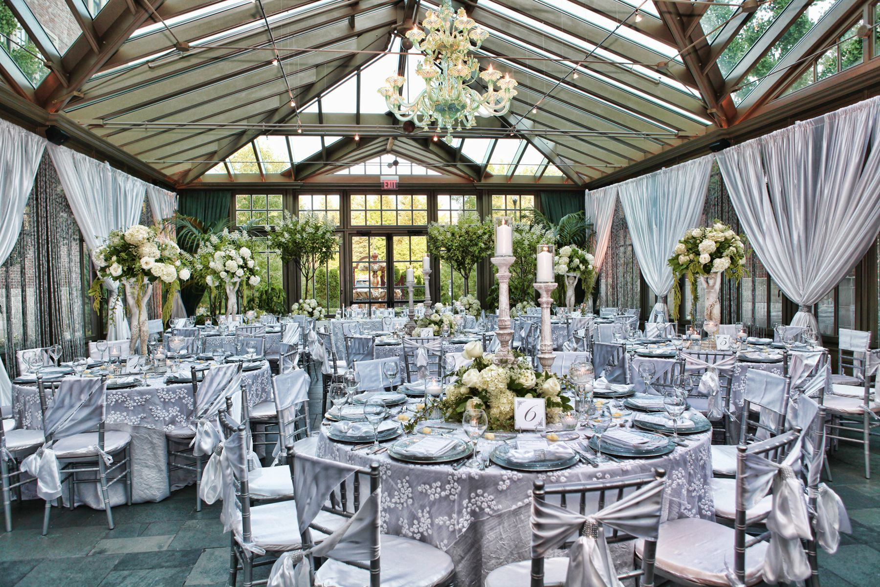 Conservatory Reception Michigan Wedding Venues Romantic Wedding Venue Royal Park Hotel