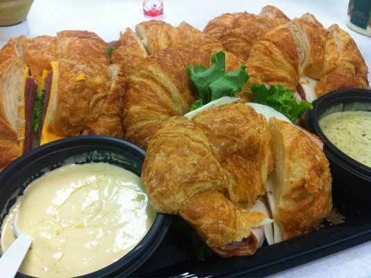 Costco Croissant Sandwich Tray -already ordered  Just in case