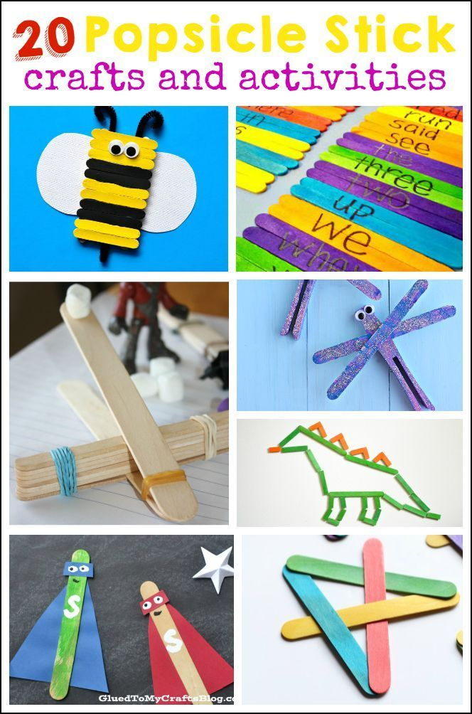 20 Popsicle Stick Crafts And Activities Craft Stick Crafts