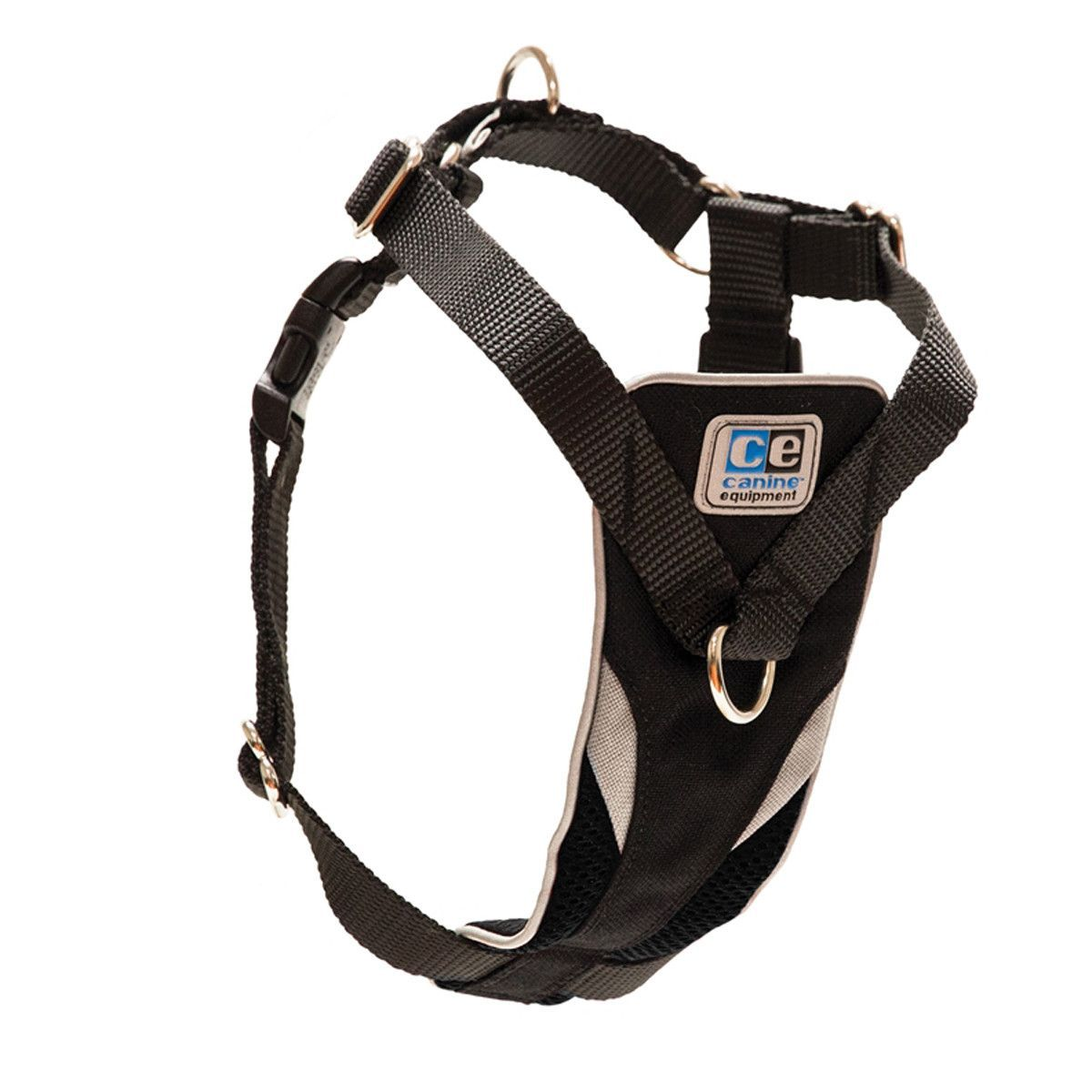 Ultimate Control Dog Harness by Canine Equipment - Black