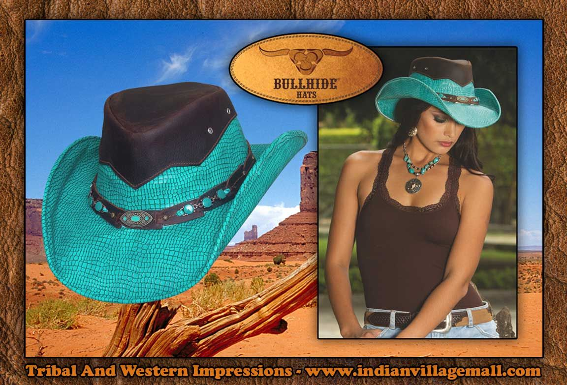 d94d184d6d5da Bullhide Montecarlo Jealous Leather Western Hat from Tribal And Western  Impressions - Review off of  http   www.indianvillagemall.com hats  bhjealous.html