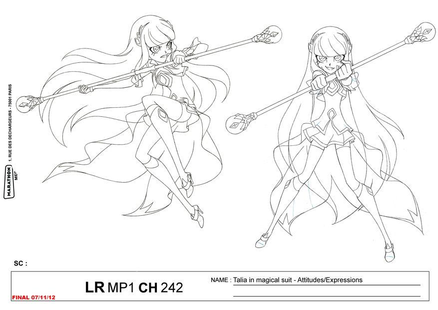 Lolirock Talia Transformation Character Sheet Girly Drawings Princess Coloring Pages Sketches