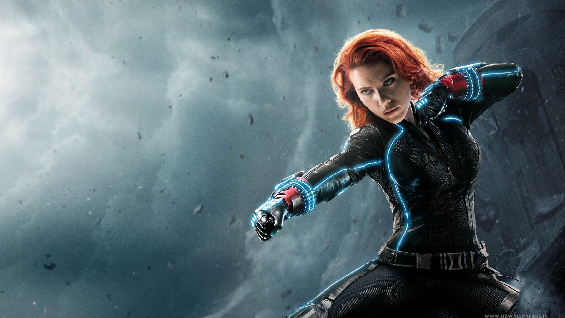 Movie - Avengers: Age Of Ultron  Avengers Age Of Ultron Scarlett Johansson Black Widow Wallpaper