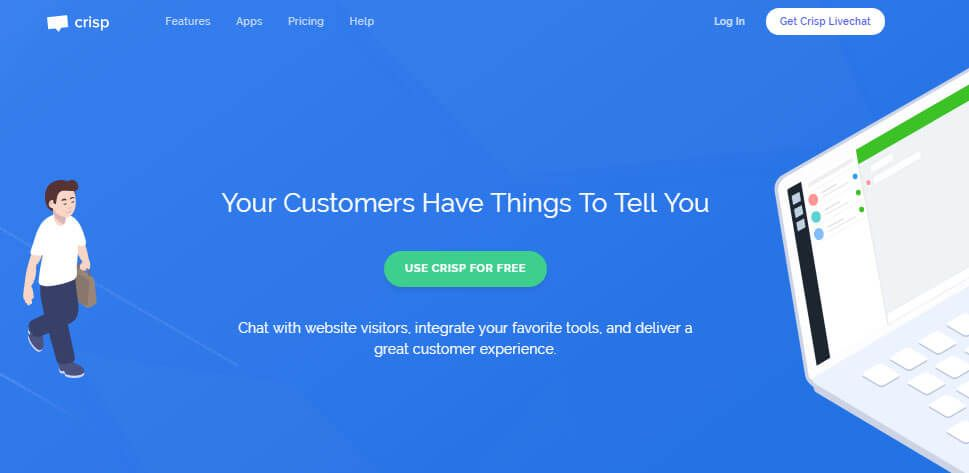 Crisp Chat Review 1 Live Chat Software for Your Website