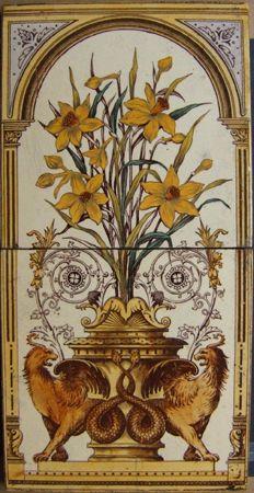 West Side Art Tiles - English Tile.