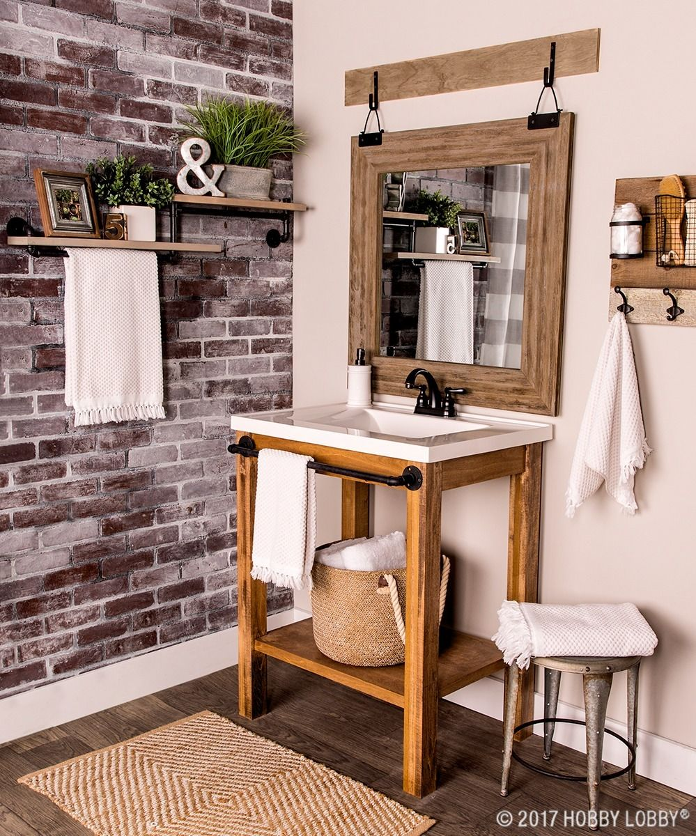 Give Your Bathroom A Bold Makeover By Incorporating Industrial Elements Home Home Decor Decor