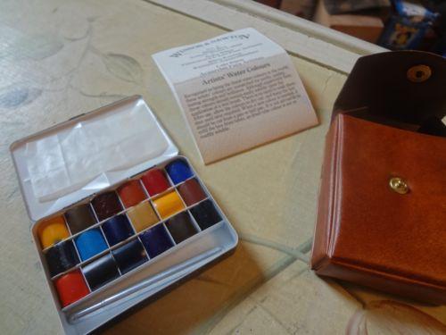 Winsor Newton No 3 Water Color Set Color Set Watercolor Palette