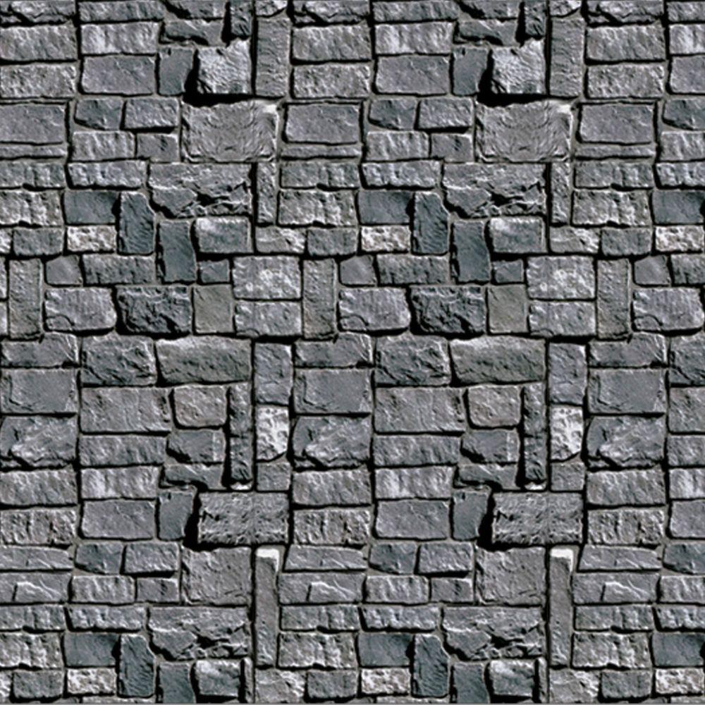 halloween stone wall brick dungeon back drop backdrop scenery prop