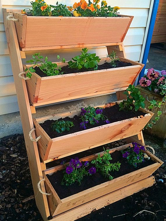 "New 24"" Large planters wall planter succulent planter"