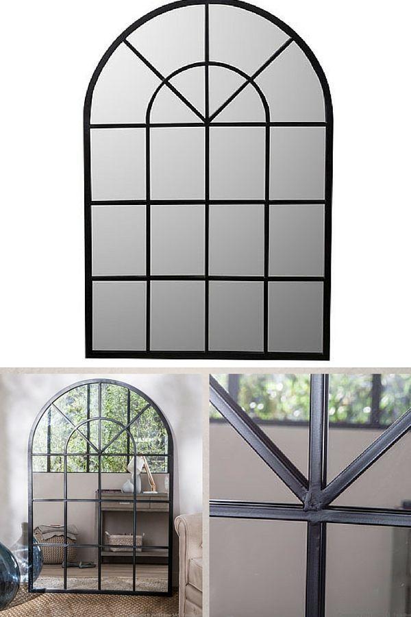 12 magnifiques miroirs industriels d couvrir miroir industriel miroirs et industriel. Black Bedroom Furniture Sets. Home Design Ideas
