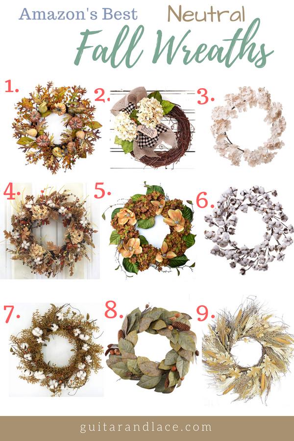Amazons best fall wreaths fandeluxe Gallery