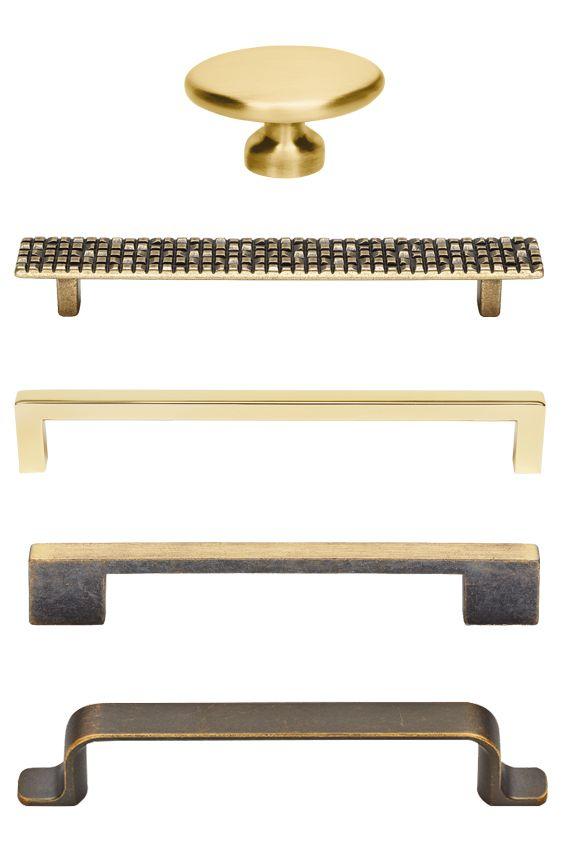 Griffe in Gold für die 20er Jahre Art Deco Küche | Golden 20ies ...