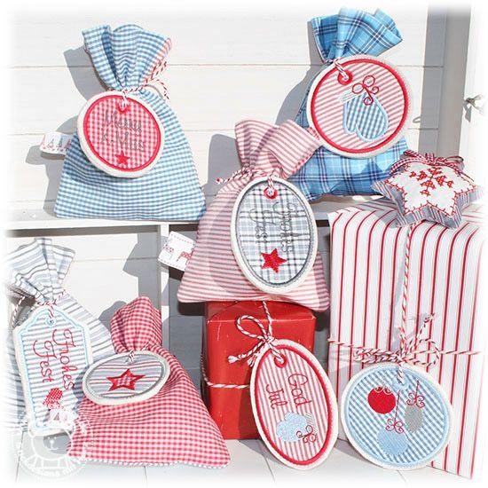 3b11c3e101b6 Geschenke verzieren mit Weihnachts-Labels