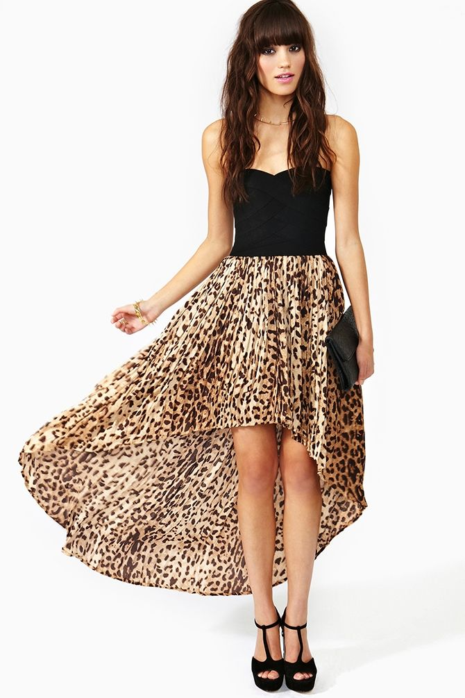 Safari Tail Dress Animalier