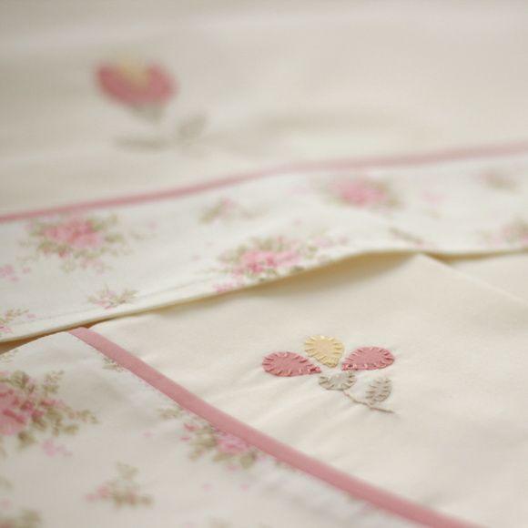 Sheets set for cot Provençal