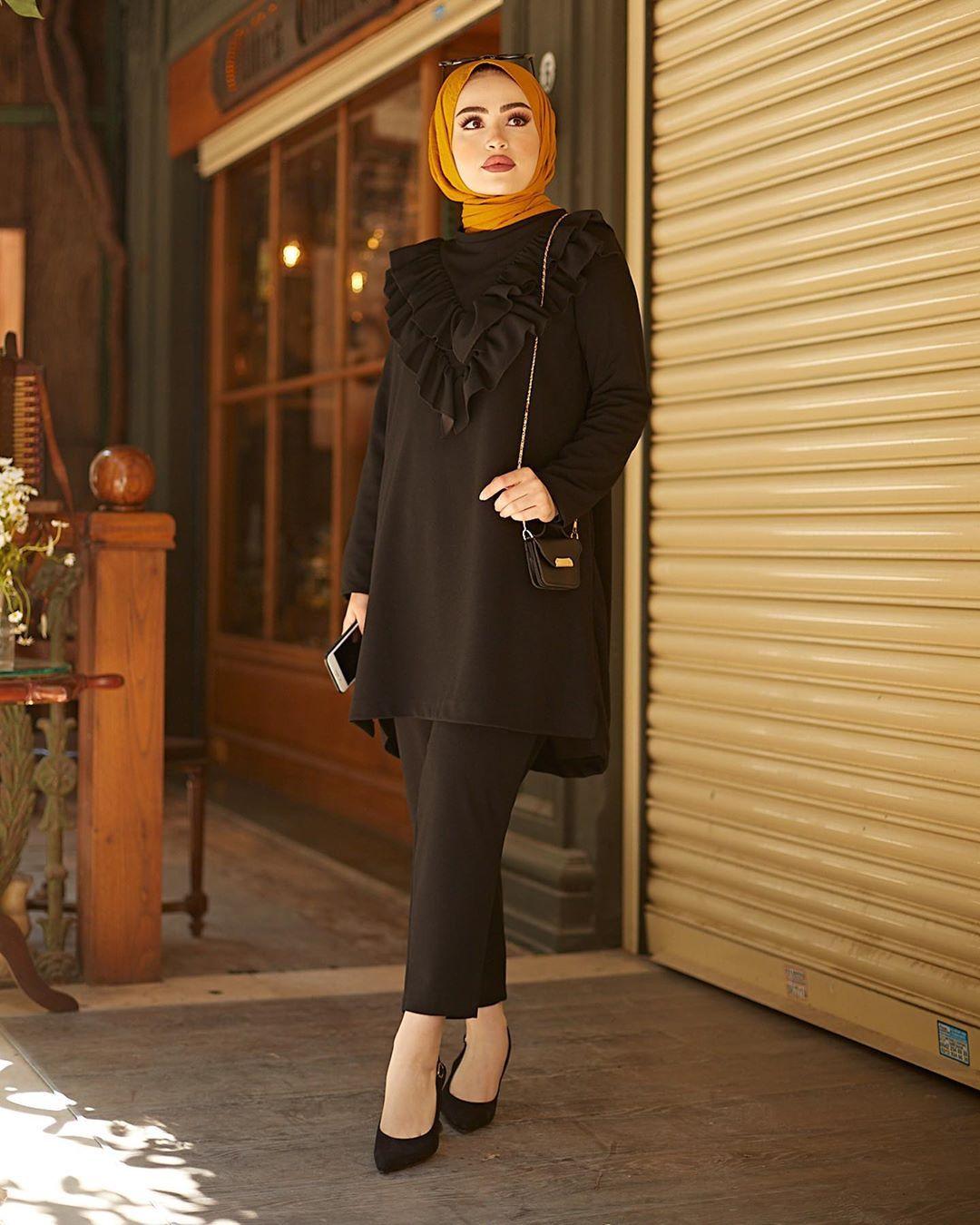 Madia Adli Kullanicinin Hijab Modest Outfit Inspo Panosundaki Pin 2020 Moda Kombinleri Moda Urunler