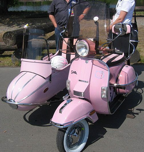 Pink Stella Scooter Sidecar Stella Pinterest Scooters