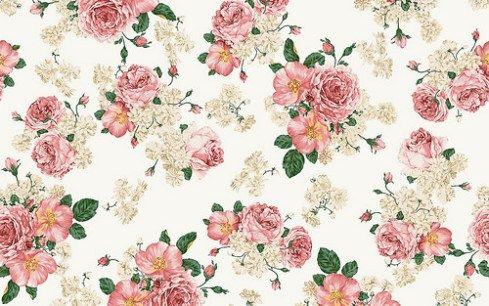 Papeles Tapiz Y Fotos De Flores Vintage Para Decorar Rosas